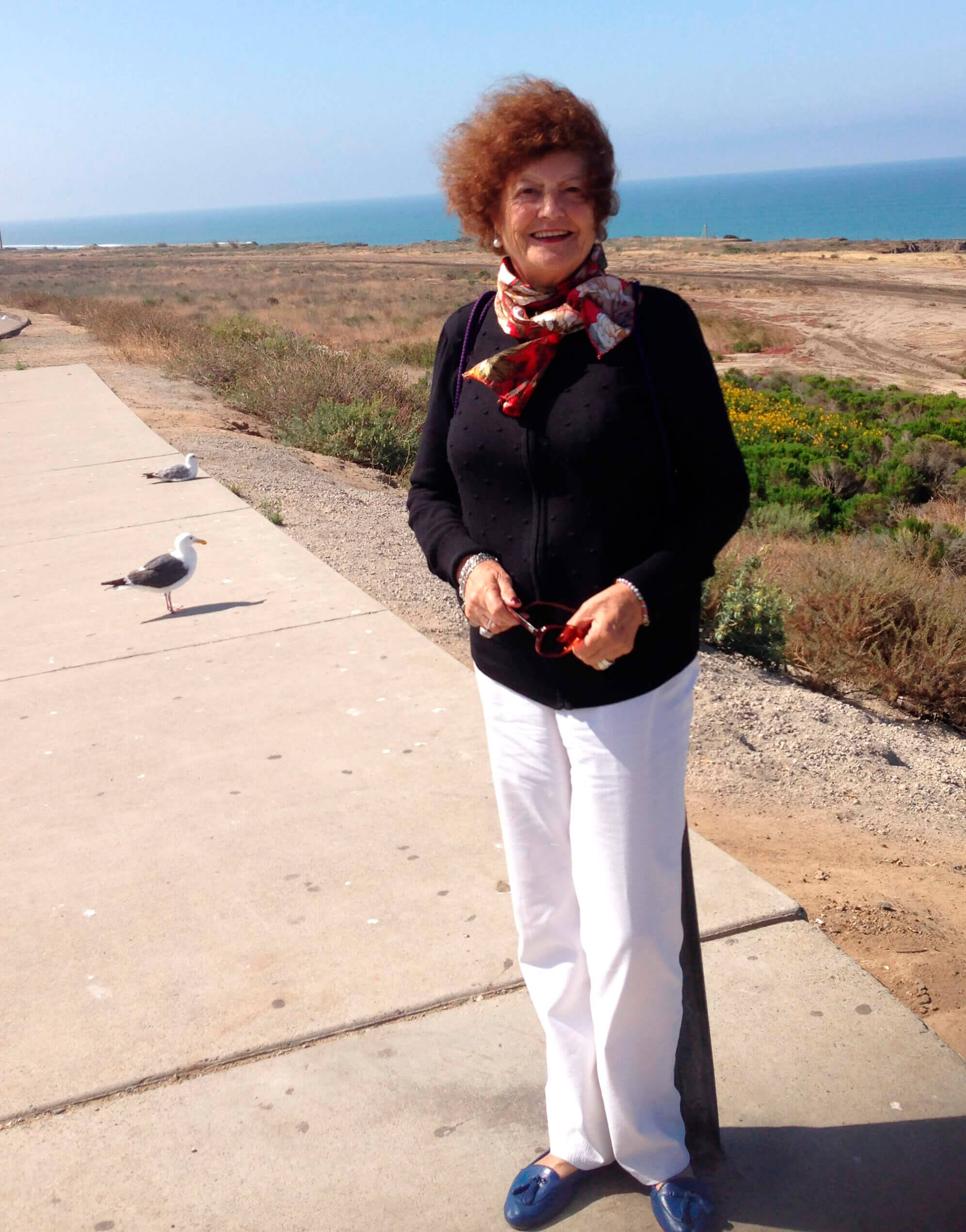 My mother Ana in California, USA 2011, aged 7