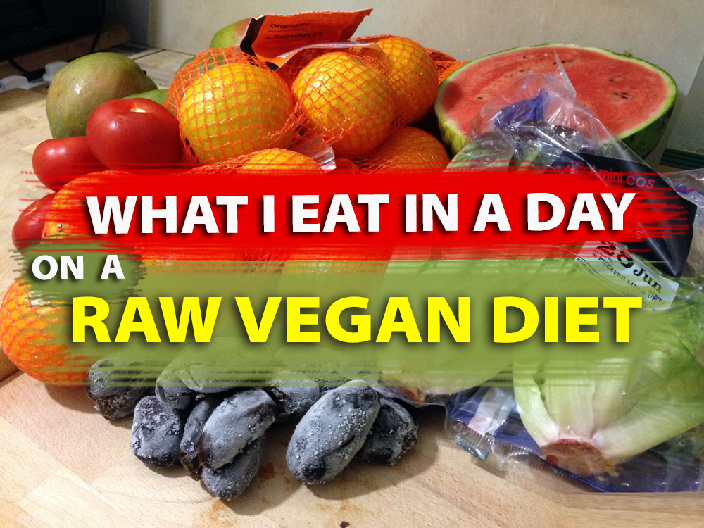 what to eat on a raw vegan diet