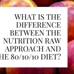 What Is The Difference Between The Nutrition Raw Approach And the 80/10/10 Diet?