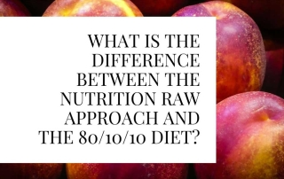 What Is The Difference Between The Nutrition Raw Approach And the 801010 Diet_1