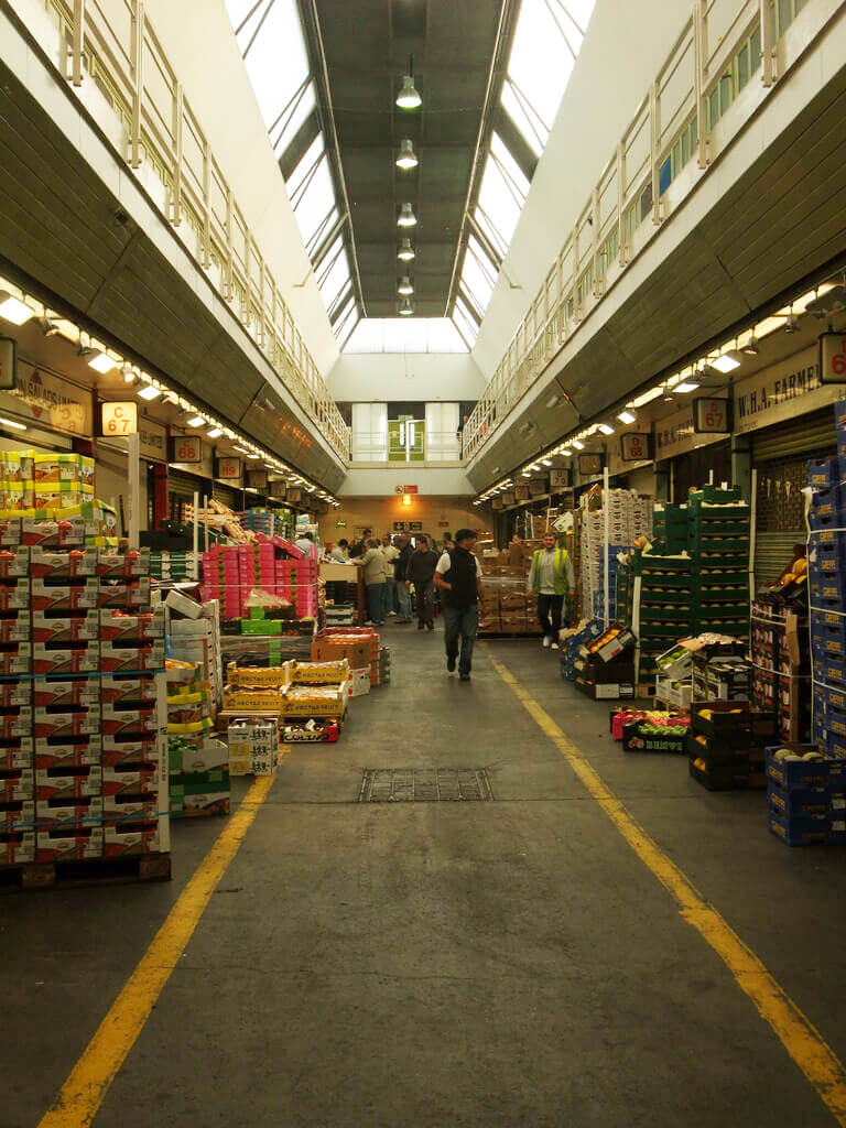 New Covent Garden Market, London