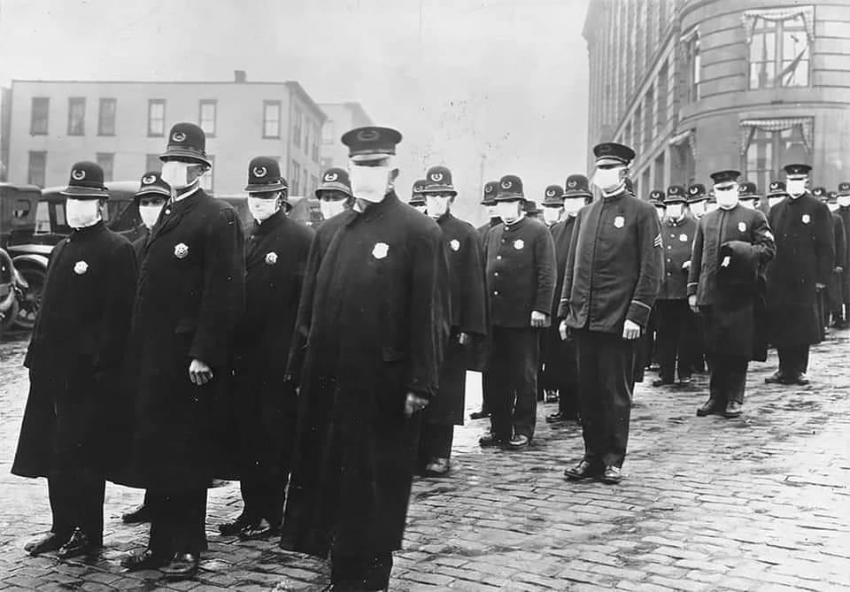 Spanish Flu pandemic of 19183