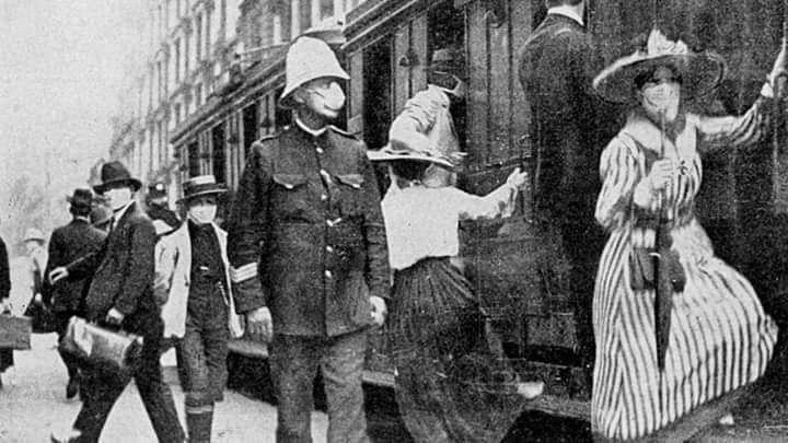 Spanish Flu pandemic of 19184